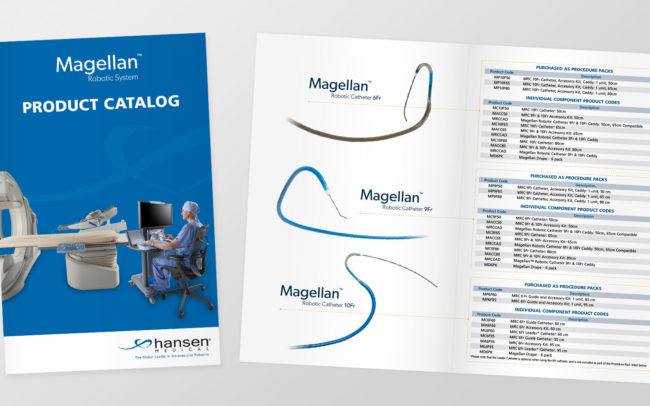 product catalog and brochure design